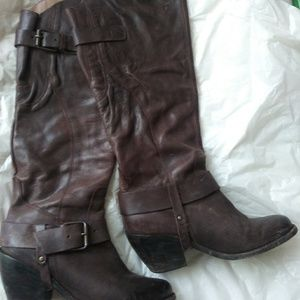 Dolce Vita tall riding boot with harness